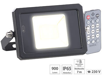 Solar LED-Strahler 10 Watt mit Bewegungsmelder Fluter Flutlicht Scheinwerfer