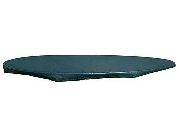 royal gardineer gewebe abdeckplane xxl rund f r pool trampolin u v m 4 6 m. Black Bedroom Furniture Sets. Home Design Ideas