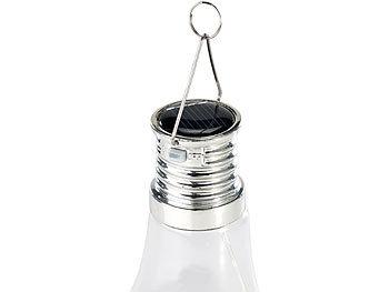 lunartec solar led lampe in gl hbirnen form 3 warmwei e leds 2 lm 0 024 w. Black Bedroom Furniture Sets. Home Design Ideas