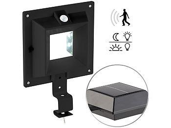 lunartec dachrinnen lampe solar led dachrinnenleuchte mit. Black Bedroom Furniture Sets. Home Design Ideas
