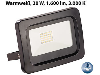 800W LED Fluter Außen Sicherheit Garten Lampe Strahler Flutlicht Warmweiß IP65