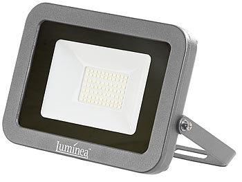 Luminea LED Strahler: Wetterfester LED Fluter, 50 W, 4.500