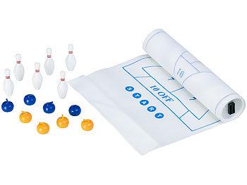 3in1-Tischspiele-Set mit Curling, Bowling & Shuffleboard / Spielzeug