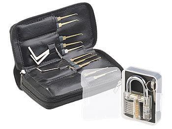 Agt Lockpick Profi Lockpicking Set Mit 30 Teiliger Dietrich Tasche