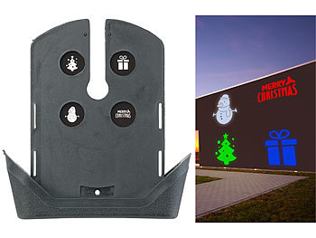 Weihnachtsprojektor Lichter Projektions Blau/&weiß LED Projektionslampe