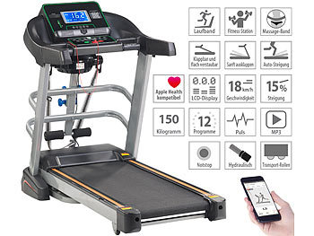 Profi-Laufband und Fitness-Station LF-512.multi, App, Bluetooth, 18 km/h, 1.865 Watt 9