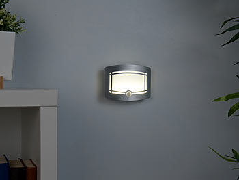 lunartec kabellose wandlampe 2 stufige akku led. Black Bedroom Furniture Sets. Home Design Ideas