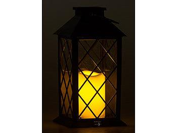 LED-Lampe in Glühbirnenform in 4 Farben zum Aufstellen oder Hängen kabellos