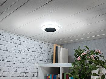 Luminea Wohnzimmer Deckenlampe: 2er Pack Verstellbare LED