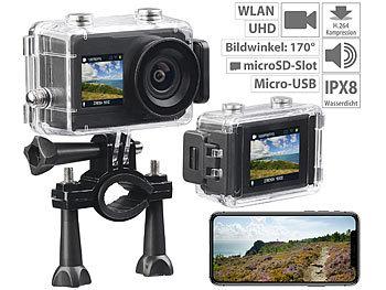 2 Sony Cam Uhd DisplaysWlan Mit Und BildsensorIpx8 Somikon Action AcL354Rjq
