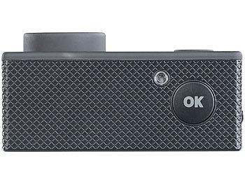 UHD-Action-Cam DV-3717 mit WLAN, Sony-Bildsensor und App, IPX8 0