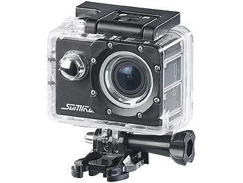 UHD-Action-Cam DV-3717 mit WLAN, Sony-Bildsensor und App, IPX8 1
