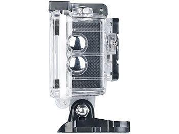 UHD-Action-Cam DV-3717 mit WLAN, Sony-Bildsensor und App, IPX8 5