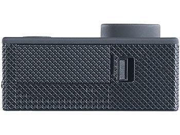 UHD-Action-Cam DV-3717 mit WLAN, Sony-Bildsensor und App, IPX8 9