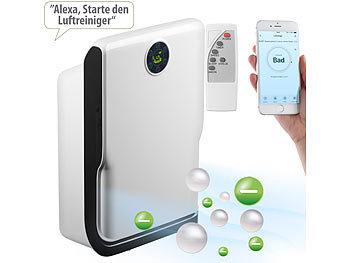 6-Stufen-Luftreiniger mit UV, Ionisator, WLAN & App, Alexa-kompatibel / Luftreiniger