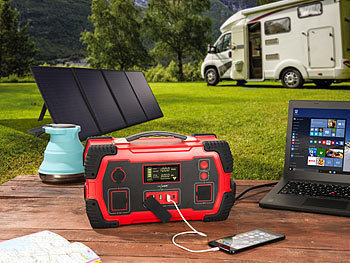 Solar Power-Station Camping