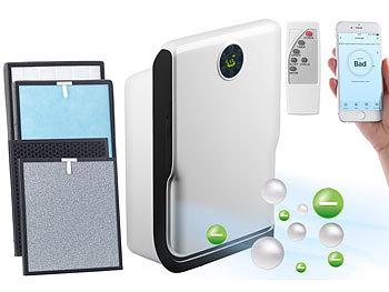 6-Stufen-Luftreiniger mit UV, Ionisator, WLAN, inkl. Ersatzfilter / Luftreiniger