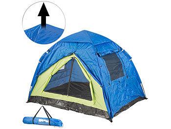 Semptec Automatik Zelt: Automatik Kuppelzelt für 2 Personen