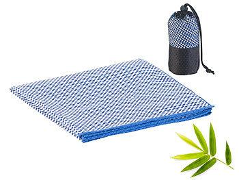 Schnelltrocknendes, leichtes Bambus-Handtuch, nachhaltig, 80 x 40 cm / Handtuch