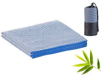 Schnelltrocknendes, leichtes Bambus-Handtuch, nachhaltig, 130 x 80 cm / Bambus Handtuch