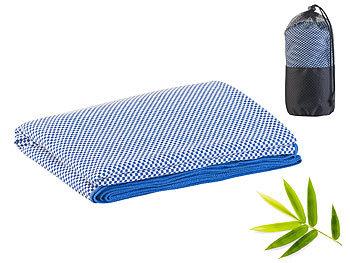 Schnelltrocknendes, leichtes Bambus-Handtuch, nachhaltig, 200 x 80 cm / Handtuch