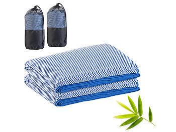 2er-Set schnelltrocknendes, leichtes Bambus-Handtuch, 200 x 80 cm / Handtuch