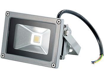 10-50W LED Fluter Flutlicht mit Bewegungsmelder Scheinwerfer Außen Strahler IP65