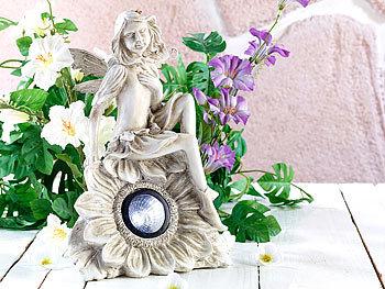 Lunartec solar gartendekoration sitzende elfe mit led for Gartendeko solar figuren