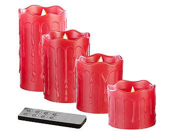 britesta adventkranz adventskranz mit roten led kerzen. Black Bedroom Furniture Sets. Home Design Ideas