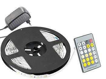 innen//Nassbereich LED Trafo 1m-10m LED Streifen LED Dimmer Farbwahl