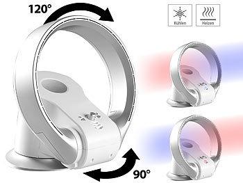 Sichler Haushaltsgeräte Rotorloser 360° Tischventilator U0026 Heizlüfter,  Oszillation, Bis 1.100 W Sichler ...