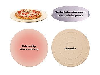 Pizzastein Für Gasgrill : Cucina di modena pizzastein gasgrill runder pizzastein mit