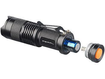 Experte IPX4 Ultra Hell Cree LED Aluminium Taschenlampe 10w Nacht Profi Zubehör