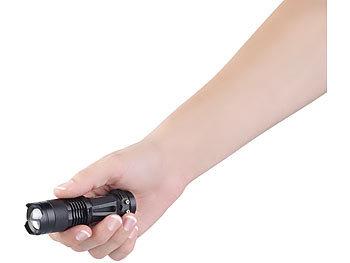Caredy 3Modes Taschenlampe Led Taschenlampe Taktische Taschenlampe Mit 3 Modi Taschenlampe Taschenlampe F/ür Wandern Kampieren Und Outdoor-Aktivit/äten Einstellbare Strahl Aluminiumlegierung Hohe Lei