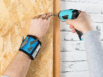 Magnet Armband Magnet am Arm Magnetarmband Magnethalter Halter für Handgelenk