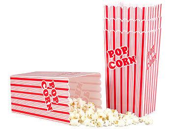 Popcorntüten mit pinken Streifen 13,5 cm Süßigkeiten /& Geschenke Snacks f