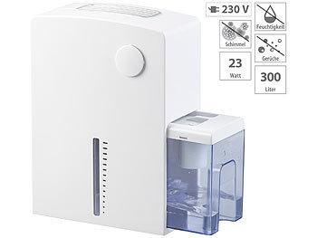Sichler Haushaltsgeräte Elektrischer Luftentfeuchter mit Peltier-Technik, 300 ml/Tag, bis 25mSichler Haushaltsgeräte Elektrische Luftentfeuchter