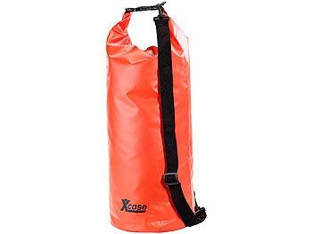 Wasserdichter Packsack 25 Liter, rot / Packsack