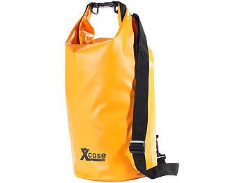 Wasserdichter Packsack 16 Liter, orange / Packsack