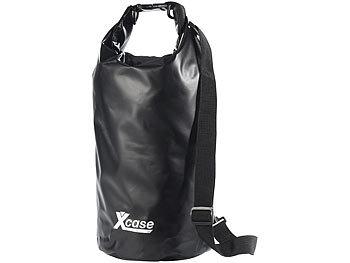 Wasserdichter Packsack 16 Liter, schwarz / Packsack