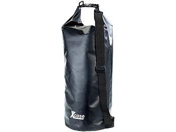 Wasserdichter Packsack 25 Liter, schwarz / Packsack