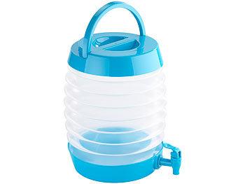 Pearl Wasserkanister Faltbares Fässchen Auslaufhahn