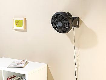 sichler ventilator wandmontage neigbarer wand tisch raum ventilator vt 123 wt 29 watt 18. Black Bedroom Furniture Sets. Home Design Ideas