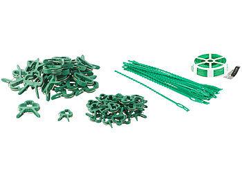 Pflanzenbefestigungs-Set mit Pflanzenclips, XXL-Pack, 71-teilig / Pflanzenclips