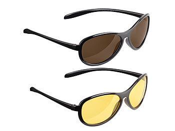 pearl nachsichtbrille 2er set sonnen nachtsichtbrille kontrastverst rkend polarisierend. Black Bedroom Furniture Sets. Home Design Ideas