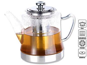 Glas Teekanne rosenstein söhne teezubereiter 2in1 glas teebereiter teekanne