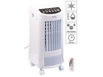 3in1-Luftkühler, Luftbefeuchter & Ionisator, Timer, Fernbedienung, 65W / Luftkühler