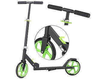 Klappbarer City-Roller, XXL-Räder, Ständer, Trageriemen, bis 100 kg / City Roller