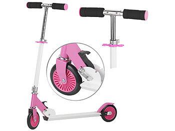 Klappbarer City-Roller für Kinder, ultraleicht, max. 50 kg, rosa / Roller