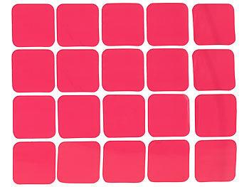 agt klebeband pad 20er set doppelseitige klebepads 25 x 25 mm tragkraft 200 g cm. Black Bedroom Furniture Sets. Home Design Ideas